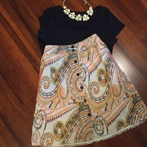 Jade melody tam linen skirt 🍑